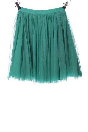 Asos Tiulowa spódnica zielony Elegancki