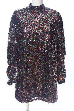 Asos Longsleeve Dress abstract pattern elegant