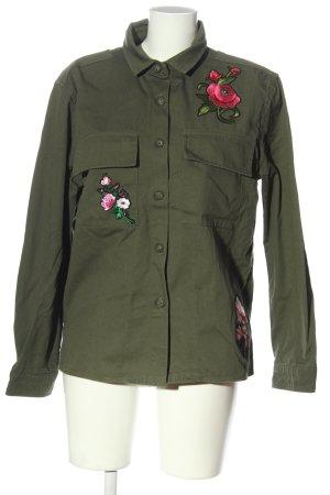 Asos Between-Seasons Jacket khaki casual look