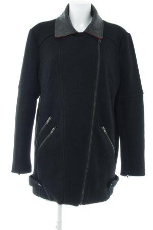 Asos Between-Seasons Jacket black-red Lather elements