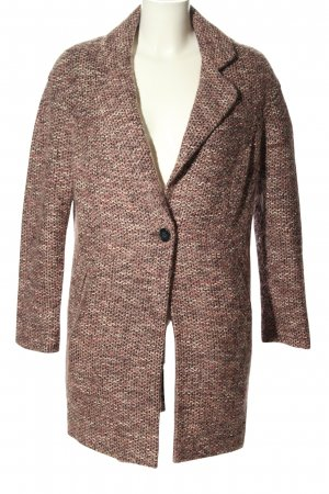 Asos Between-Seasons-Coat pink flecked casual look