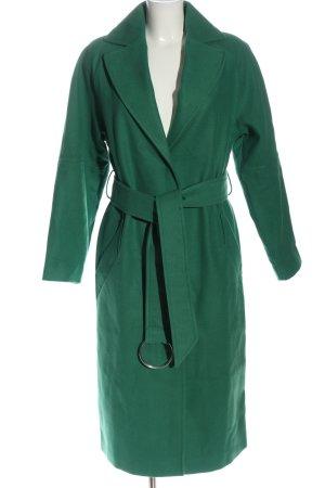 Asos Płaszcz przejściowy zielony W stylu biznesowym