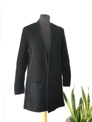 Asos Cardigan a maglia grossa nero