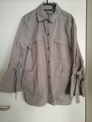 Asos Between-Seasons Jacket light grey-grey