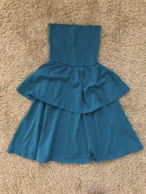 Asos Sukienka gorsetowa niebieski-stalowy niebieski