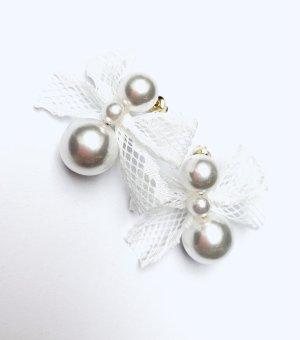 Asos Vintage Stecker Perlen Schleife Romantisch