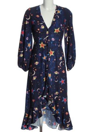 Asos Asymetryczna sukienka Na całej powierzchni Elegancki