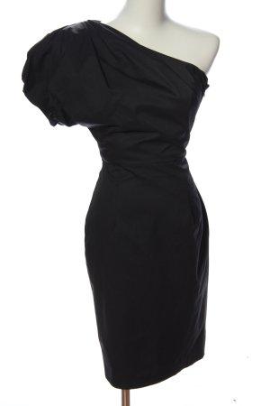 Asos Robe bas asymétrique noir élégant