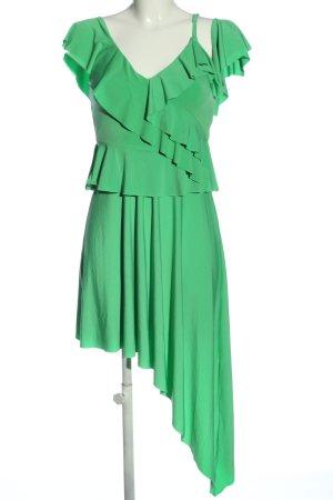 Asos Jurk met langere achterkant groen elegant