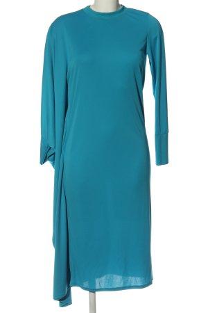 Asos Robe bas asymétrique bleu élégant
