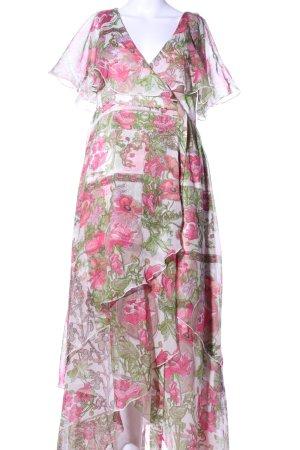 Asos Vestido estilo flounce estampado floral look casual