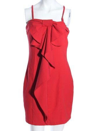 Asos Vestido estilo flounce rojo elegante