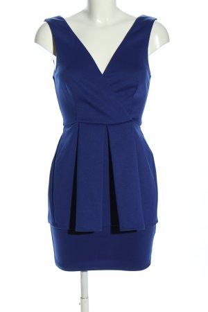 Asos Volantkleid blau Elegant