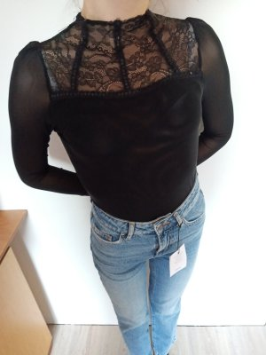 Asos Weise Fashion Shirt Spitze 34/36 neu
