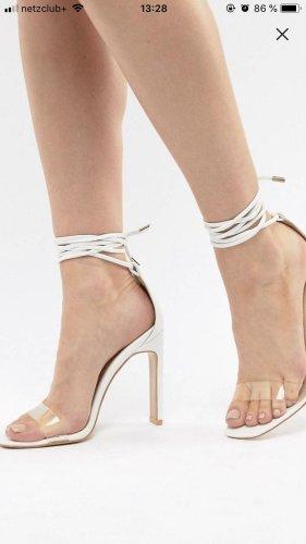 Asos weiße Sandalen