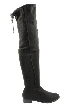 Asos Wide Calf Boots black elegant