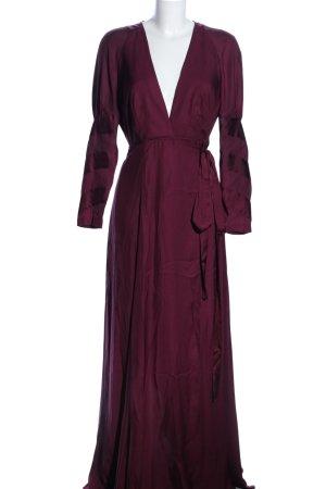 Asos Robe portefeuille violet style extravagant