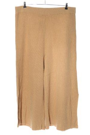 Asos Wełniane spodnie nude W stylu casual