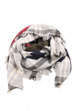 Asos Woolen Scarf mixed pattern casual look