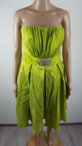 Aspeed Bandeau Dress meadow green