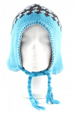 Aspen Bobble Hat graphic pattern casual look