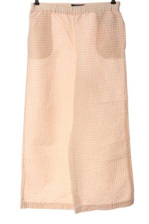 Aspesi Blu Luźne spodnie kremowy-różowy Na całej powierzchni W stylu casual