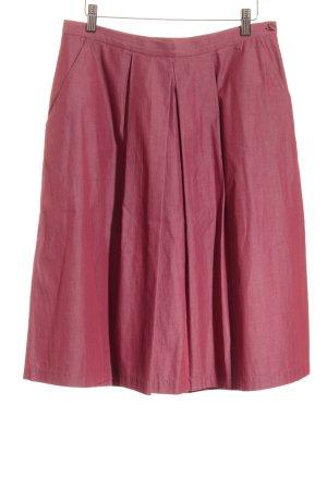 Aspesi High Waist Skirt dark red classic style