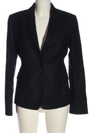 Aspesi Korte blazer zwart-wit volledige print zakelijke stijl