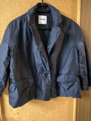 Aspesi Between-Seasons Jacket dark blue