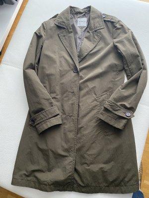 Aspesi Płaszcz przejściowy zielono-szary