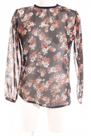 Aspesi Schlupf-Bluse florales Muster Casual-Look