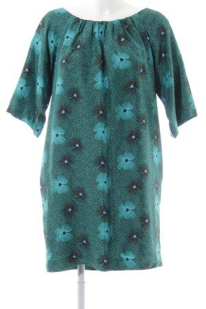 Aspesi Off-The-Shoulder Dress flower pattern casual look