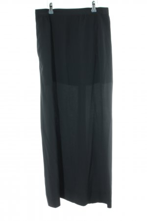 Aspesi Silk Skirt black casual look