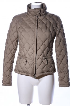 Aspesi Quilted Jacket brown quilting pattern casual look