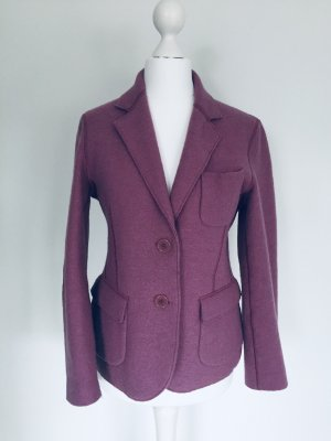 Aspesi Wool Blazer grey lilac