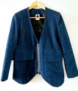 Assembly New York Blazer en jean bleu foncé