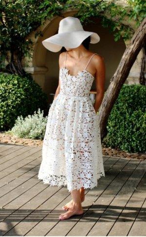 ASTR self portrait floral lace midi spitzenkleid Hochzeit Boho Bohemian Ibiza