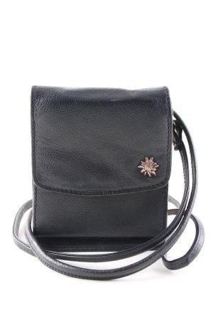 Mini sac noir-doré style décontracté