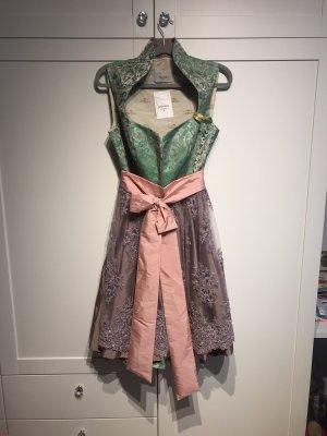 Astrid Söll Robe à corsage multicolore