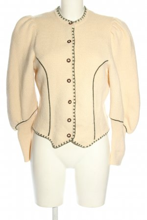 Astrifa Tradycyjna kurtka kremowy Elegancki