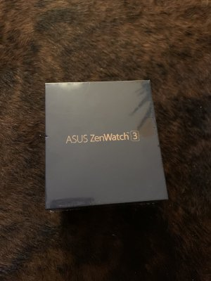 Asus Digital Watch black-brown