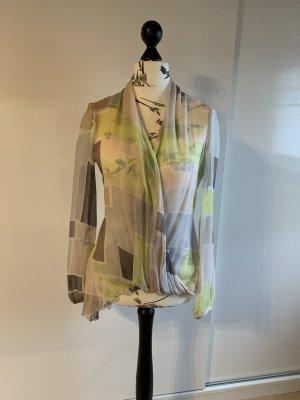 Patrizia Pepe Zijden blouse veelkleurig Zijde