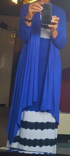 DKNY Chaqueta cruzada azul