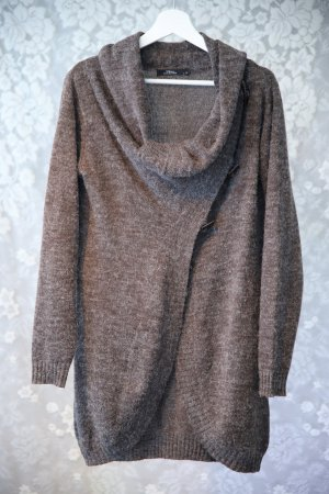 17&co Knitted Vest grey brown