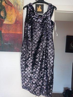 Lavish Alice Sequin Dress black-anthracite