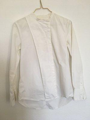 Asymetrisches weißes Hemd