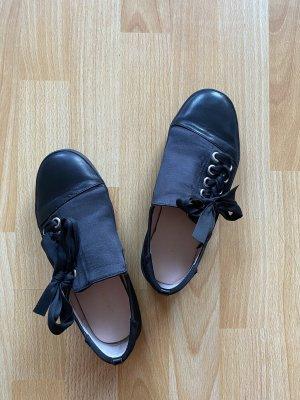 AVEC LES FILLES Sznurowane buty czarny