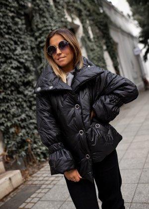 Bastet Pikowana kurtka czarny