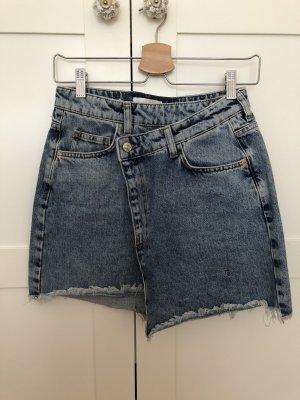 Asymmetrischer Jeans Rock Mango