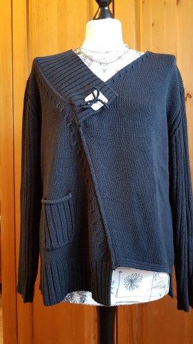 dolores Pull tricoté noir-gris anthracite